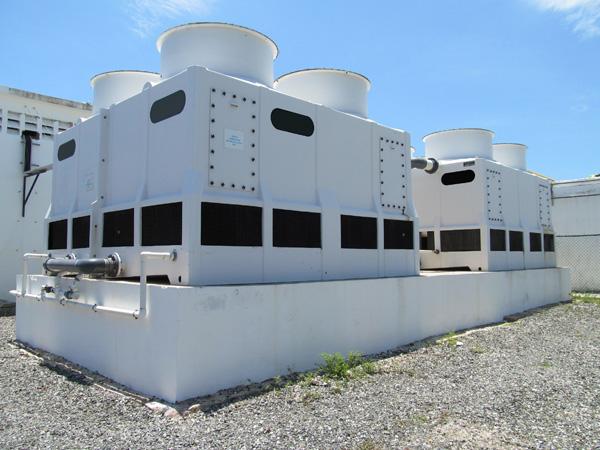 proceso industrial para enfriamiento del agua